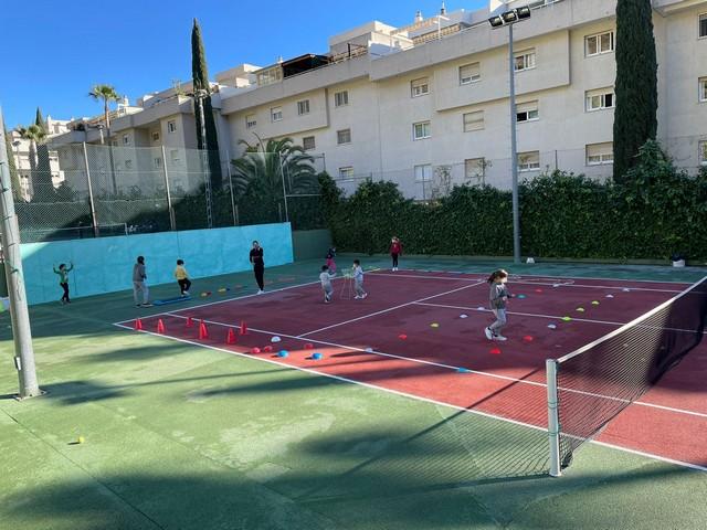 Semana blanca Pista de tenis